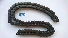 "Hmparts Mini Bike Kart Chain 35, 3/8 "" 3/16 "" 50 Links with Chain Lock"