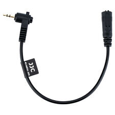 JJC Cable 90degree 2.5mm Male to 3.5mm Female Microphone Adapter Converter AU