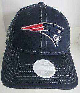 Patriots New England Hat Woman's Med Men Sm NFL New Era Cap