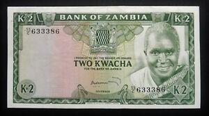 Zambie - 2 Kwacha - 1974