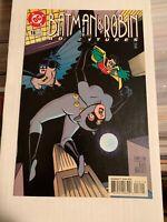 Batman & Robin Adventures 16! (DC 1997) Catwoman Cover!