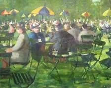 PETER COLLINS (B. 1923) ARCA - KENSINGTON GARDENS - GARDEN PARTY - LONDON