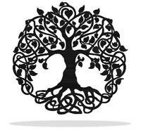 Infinity Tree Metal Art Wall Decor Gift Idea