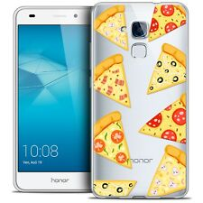 Coque Crystal Gel Pour Honor 5C Extra Fine Souple Foodie Pizza
