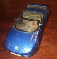 MC Toys Blue Lotus Elan Sports Model Die Cast Toy Car 1/36 Scale Pull Back