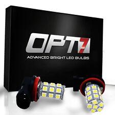 OPT7 Advanced H11 LED Fog Light 27-SMD DRL 6000K Cool White 5050 Bulb