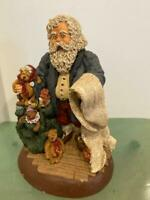 June McKenna 1990 LE Santa Checking the List Orig $250 EARLY Piece Teddy Bears