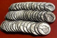 (1) Uncirculated Mercury Dime 90% Silver Brilliant Uncirculated Dimes 1935-1945
