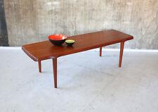 60er John Boné TEAK TAVOLINO MASSELLO Danish 60s coffee table SOFA TABLE Solid