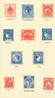 Worldwide Stamps 1868 Stamp Reprints