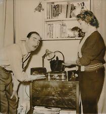 Le Clown Zavatta - Mona Silvy 1955 - Cambriolage dans leur Appartement - PR 106