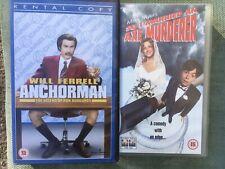 So I Married An Axe Murderer, Anchorman,  VHS