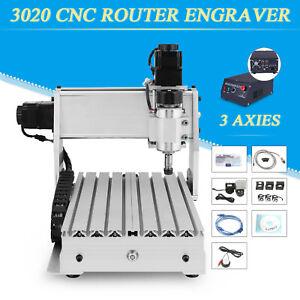 3020T 3 Achse CNC Router USB Graviermaschine GraviergeräT FräSmaschine Graveur