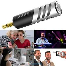 Portable Condenser Microphone Digital Stereo 3.5mm for Mobile Phone PC Recorder