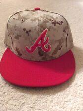 Atlanta Braves Authentics: Gavin Floyd Game-Used Cap - Memorial Day 2014