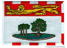PRINCE EDWARD ISLAND FLAG embroidered iron-on PATCH CANADA EMBLEM Province NEW