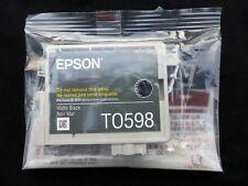 Epson T0598 ORIGINE MATTE BLACK Cartouche d'encre R2400