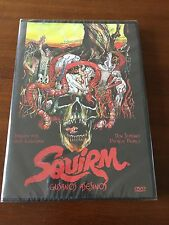 SQUIRM GUSANOS ASESINOS - ED 1 DVD - 1976 - NUEVO EMBALADO - NEW SEALED - 89 MIN