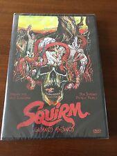 SQUIRM GUSANOS ASESINOS - ED 1 DVD - 1976 - NUEVO EMBALADO - NEW SEALED - 89 MIN