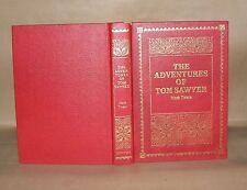 The Adventures Of Tom Sawyer, Mark Twain, Purnell 1989. Hardback,