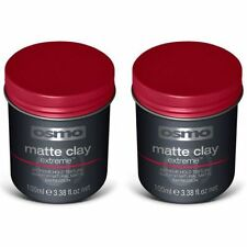 OSMO MATTE CLAY WAX EXTREME STRONG HOLD EXTREME STYLING  (2 x 100ML)