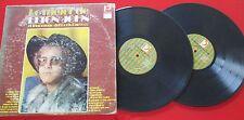 ELTON JOHN *Lo Mejor, El Fenómeno del Rock Barroco* RARE 2 LP Set 1972 VENEZUELA