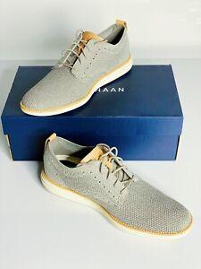 Mens Cole Haan Original Grand Stitchlite Plain Oxford Rock Ridge Shoes US 10.5