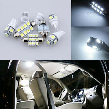Premium 6K White Interior LED Light Package Bulb SMD For Honda Civic Sedan Coupe