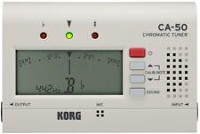 KORG CA-50 Multi-Instrument Tuner Stimmgerät, weiß