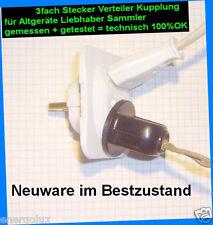 1x Flohmarkt Schnell Test Netz Adapter Altnorm Volksempfänger Röhren Radio Lampe