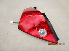 09 - 12 NISSAN ALTIMA 2D COUPE REAR DRIVER LEFT SIDE TAIL LIGHT TAILIGHT OEM