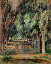 The Allée of Chestnut Trees by Paul Cézanne 60cm x 48cm Art Paper Print