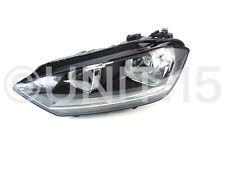 VW Golf Sportsvan 2014- Left Passenger Halogen Headlight - Genuine Part