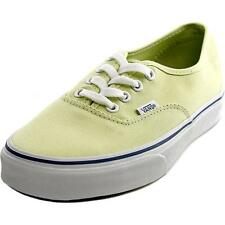 3079f4afdb13a2 VANS Authentic Shadow Lime Green True White Shoes Size Men 7 Women 8.5