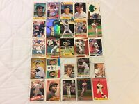 HALL OF FAME Baseball Card Lot 1974-2020 CLAYTON KERSHAW MICKEY MANTLE +