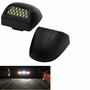 Vehicle Number License Plate Lights Lamp LEDS For Chevrolet Avalanche Pickup 2PC