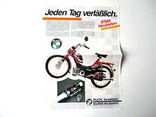 PUCH Prospekt IFMA Neuheiten Maxi X30 Rennrad Bike Turbo Mofa Cobra Racing Steyr