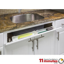 """11""""-Shallow Sink Tip-Out Tray Pack- 2 Trays/ 2 Sets of Hinges"""