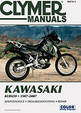 Clymer Repair Manuals KAWASAKI KLR650 1987-2007; M4743 70-0474 27-M474 M474-3