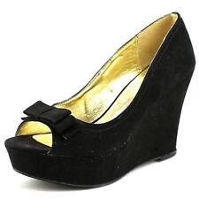 Zapatos de tacón de mujer MaterialGirl de tacón alto (más que 7,5 cm) de color principal negro