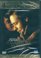 A Beautiful Mind (2002) 2 DVD NUOVO SIGILLATO Russell Crowe. Jennifer Connelly.