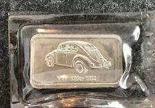 Silberbarren 1 oz Motivbarren VW Käfer 1952 Feinsilber Degussa