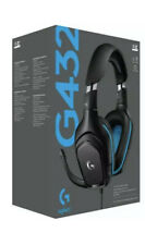 Logitech G432 Wired 7.1 Surround Sound Gaming Headset Stereo Leatherette