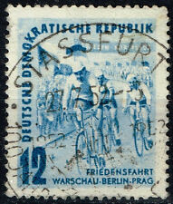Germany Bicycle Peace Race stamp 1953