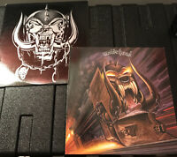 Motorhead Set of 2 Lps No Remorse and Orgasmatron 3 NM Discs Complete EX