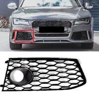 Für Audi A7 4G 11-18 RS7 Look ACC Linke Blende Wabengrill Stoßstange Gitter