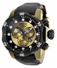 Invicta Reserve 15986 53.7mm Venom Cronógrafo suizo reloj hombre de piel