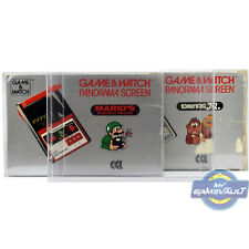 3 x Game & Watch Panorama Screen Box Protector STRONG 0.5mm Plastic Display Case