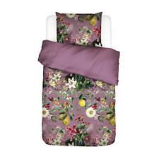 Essenza Bettwäsche Mary Lila Blumen Blüten Pflanzen Muster Baumwolle Satin