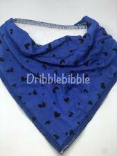 � Special Needs Disabled Dribble Bib Bandana Teen Dog Medium � Blue Hearts �